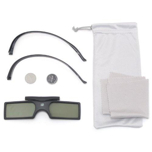 『Bluetooth互換 アクティブシャッター方式 3Dメガネ ボタン電池 RV-3DGBT2B』の3枚目の画像