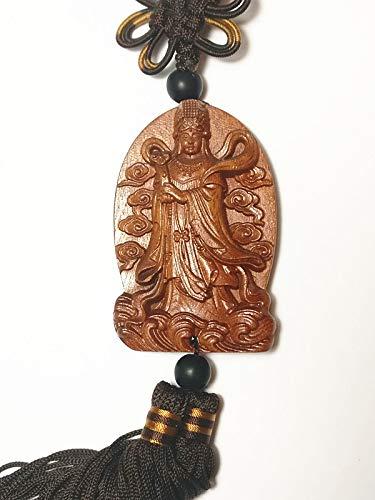 Collection Décoration en bois à découper Chine (Kwan Yin buddha-1) Statue