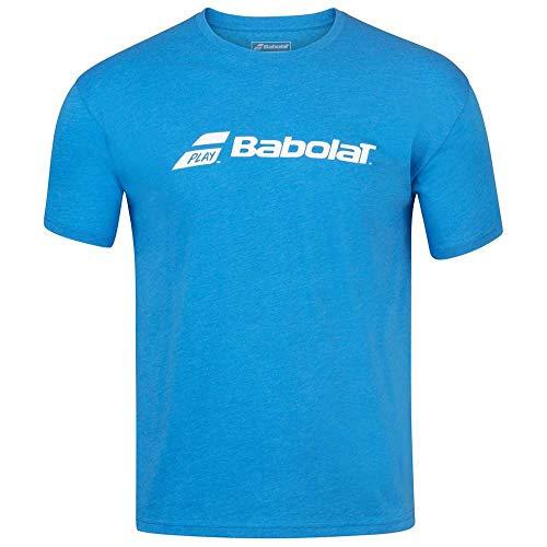 Scopri offerta per Babolat - Maglietta da allenamento a girocollo da uomo, Uomo, Blu Aster Heather, Large
