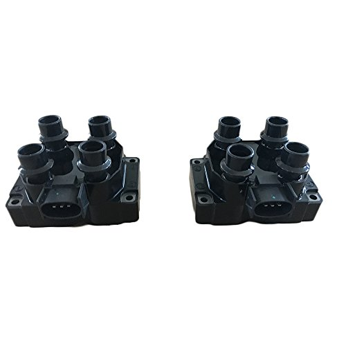 Price comparison product image Motorhot Pack of 2 Ignition Coils fit for ford Lincoln Mercury Mazda 1988-2003 Compatible with Part FD487 DG530 C924