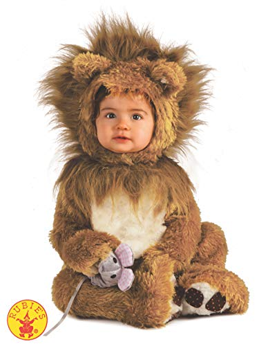 Rubie's IT885172-6/12 - Leoncino Costume, Super Baby, Taglia 6/12 Mesi