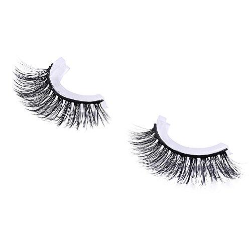 wyxhkj faux cils Cils naturels de la mode maquillage des yeux à la main longs faux cils épais clairsemés (H)