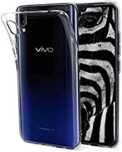 Pack 3X Case Flexible Silicone TPU for VIVO V11 - VIVO V11 PRO, Ultra Thin 0.33mm, Crystal Clear