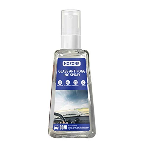 Clacce Anti-Nebel-Spray, Anti-Fog Auto-Glas Antibeschlagmittel, Antibeschlag Spray für Brillengläsern vor beschlagenden (30ML)