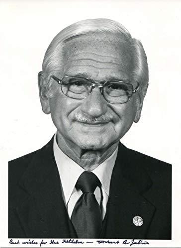 Albert Bruce Sabin original Autogramm/Autograph/signiert