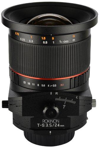 Rokinon TSL24M-C 24mm f/3.5 Tilt Shift Fixed Lens for Canon