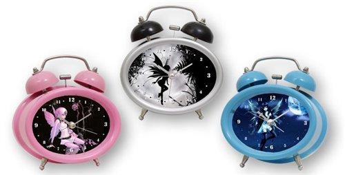 Madelcar - reloj despertador de hadas, 15 cm, varios colores (una unidad)