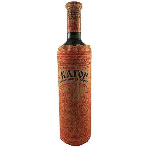 Rotwein Kagor süß 16% vol. 0,75L Likörwein Wein mit Flaschenverkleidung wine