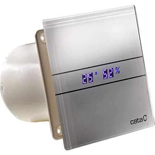 Cata de vidrio baño campana extractora 100mm indicador de
