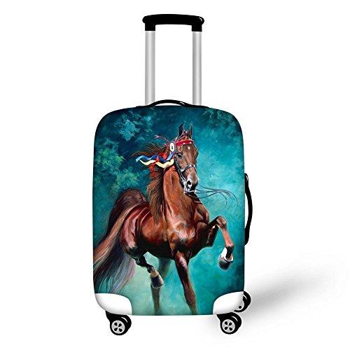 showudesigns - Juego de maletas Multicolor caballo L(fit 26'-30')