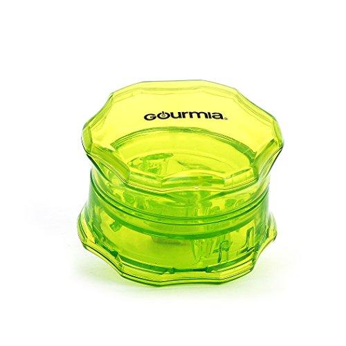 Gourmia GCU9260 Manual Garlic Crusher BPA Free No Press Garlic Peeler & Crusher 7.2 cm [Diameter] x 4.8 cm [Height]