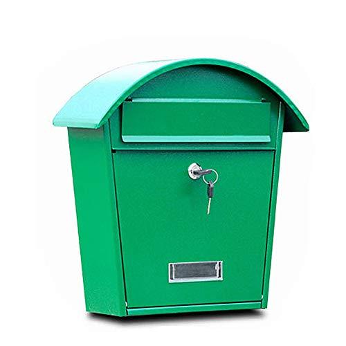 Regensicheres Haus Modell Villa Metall Briefkasten Edelstahl Vorschlag Box Gemeinschaft Briefkasten