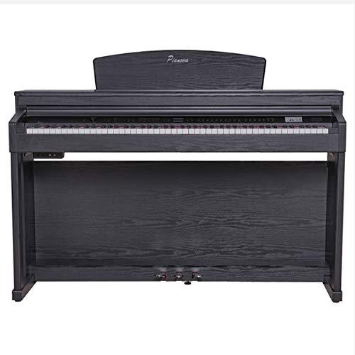 Pianova PR-186 BK Digitalpiano mit 88 Tasten für Schlag- und Ritmos
