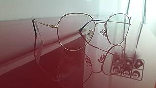 Optical Eyewear Non-prescription Eyeglasses Frame with Clear Lenses for Women and Men