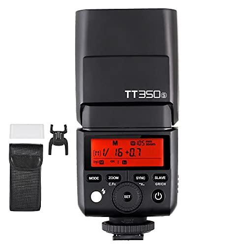 【正規品 技適マーク付き】Godox TT350S 2.4G HSS 1/8000s TTL カメラスピードライト SONY A7 A7R A7S A7II A7RII A7SII A6300 A6000 適用 [並行輸入品]