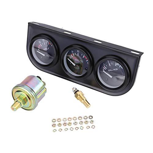 Allright 52mm Auto Thermograph Temperatur Öldruck Voltmeter Messgerät Zusatz Instrument