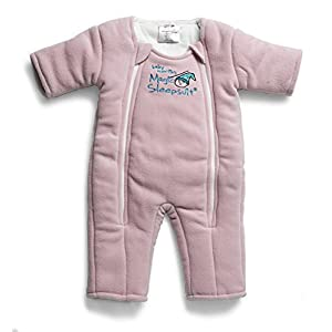 Baby Merlin's Magic Sleepsuit – Swaddle Transition Product – Microfleece – Pink – 3-6 Months