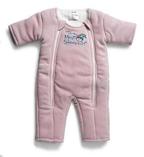 Baby Merlin's Magic Sleepsuit - Swaddle Transition Product - Microfleece - Pink - 3-6 Months