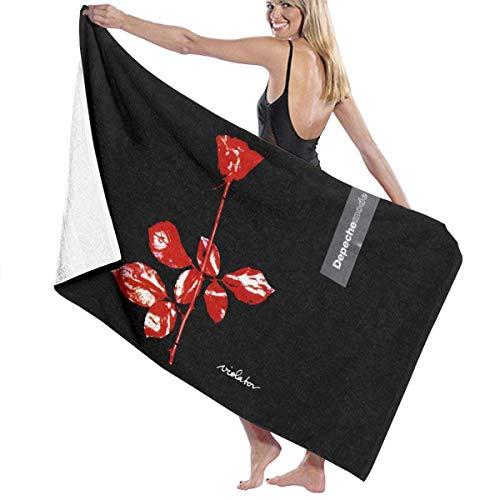 AEMAPE Depeche-Mode Quick Dry Strand Mikrofaser Handtuch Badetuch Decke Super saugfähig Leichte Körpertücher für Strandpool, Spa, Schwimmen, Wandern und Heimgebrauch 32 x 52 Zoll-5Q