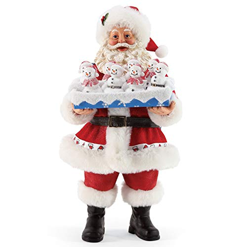 Department 56 Possible Dreams Santas Sports and Leisure Snowmade Figurine, 10.5 Inch, Multicolor