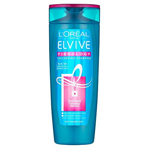 L Oreal Elvive Fibrology Fine Hair Thickening Shampoo, 400ml