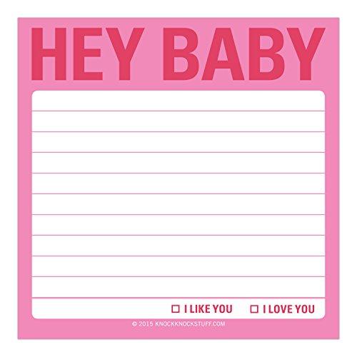 Knock Knock Sticky Notes, Hey Baby (12467) Photo #2