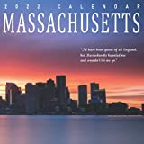 Massachusetts Calendar 2022: Gifts for Friends and Family with 12-month Monthly Calendar in 8.5x8.5 inch