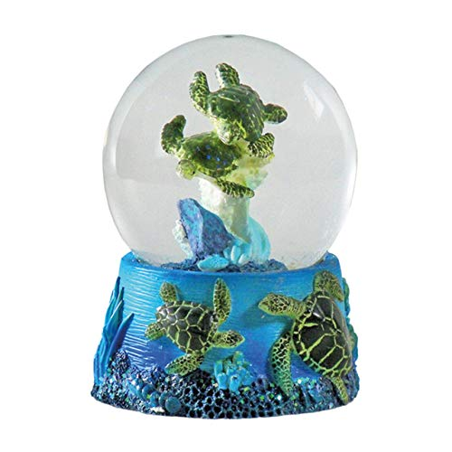 Water Globe - Sea Turtles from Deluxebase. Sea Turtle Snow Globe with Resin Figurine and Moulded Base. Great home decor, ornaments and gifts.