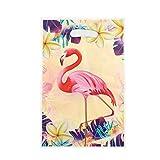 SAKUROO Flamingo Thema Einweggeschirr Sets Pappbecher Teller Serviette Stroh Flagge Partei Liefert Hochzeit Kind Geburtstag Pool Party Decor, Beutetasche 20 stücke