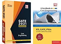 Made Easy GATE 2021 civil engineering previous 30 years solved papers WITH FREE HANDBOOK OF CIVIL
