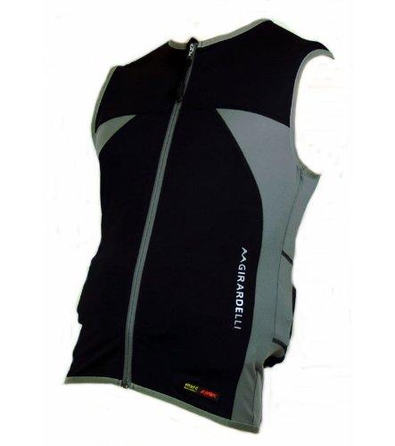 Marc Girardelli Kids Protection Vest (Kinder Skiprotektor, Snowboardprotektor, Reitprotektor Weste mit Rückenschutz/Rückenprotektor und Leber-, Milz- und Nierenschutz) (140)