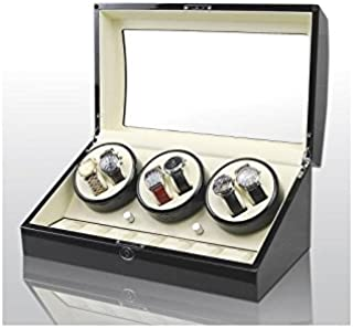 715b97bda Vitrina movimiento relojes Watch Winder 6+7 Black-Cream Modelo 038BW