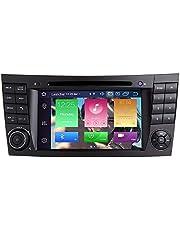 """para Mercedes Benz E-Class W211 W219 CLS Android 10.0 Octa Core 4GB RAM 64GB ROM 7""""Radio del Coche Sistema GPS estéreo Reproductor Multimedia del Coche Soporte Auto Play/TPMS/OBD/4G WiFi/Dab"""