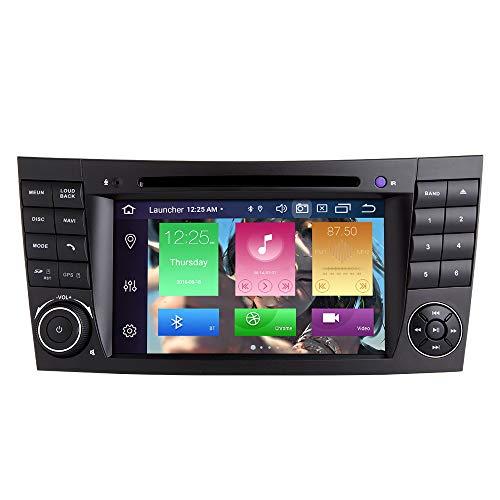 para Mercedes Benz E-Class W211 W219 CLS Android 10.0 Octa Core 4GB RAM 64GB ROM 7