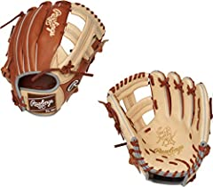 "11.5"" Pro Single Post Web Constructed from top-grade US steerhide Deertanned cowhide palm lining and soft full-grain fingerback linings provide a comfortable feel Pro-grade leather laces add durability and strength"