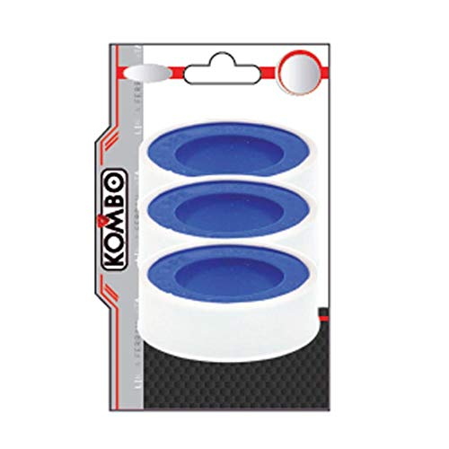 Kombo - Cinta de teflón 3 m 9 unidades