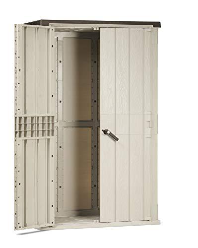 Toomax capanno portaattrezzi High Stora Way 1.670L, Grigio Talpa/Antracite, Art. 091