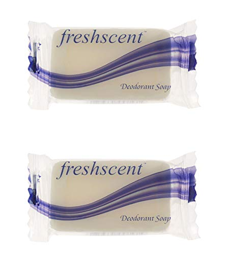 1000 Pieces - Bulk Soap Bars Individually Wrapped .35 oz Deodorant Soap - Wholesale Hotel Toiletries