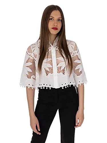 Guess LS Palmira - Camiseta blanco XS