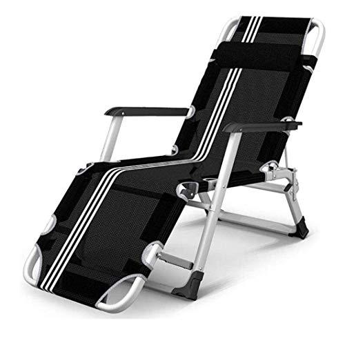 Sonnenliege Liegestuhl Zero Gravity Stühle Reclining Sun Lounger Folding Haushaltseinzelmittagspause Stuhl Begleit Bett Strand-Stuhl Portable Office Nap Lounge Chair (Color : #2)