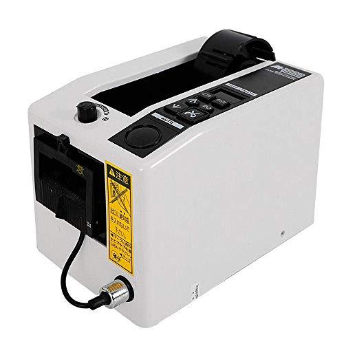 TOPQSC Automatischer Bandspender M-1000 Mikrocomputer Bandschneide Maschine 7-50 mm Breite Bänder 20-999 mm Längeneinstellung Bandspender
