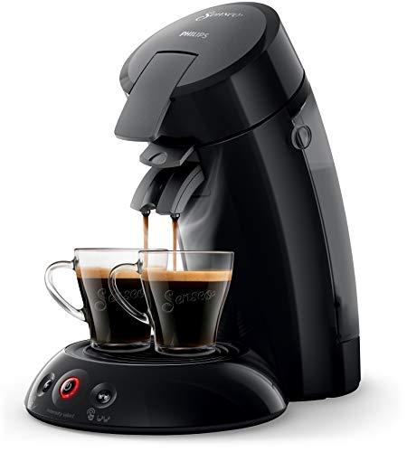 Philips HD6554/68R1 SENSEO® Original Kaffeepadmaschine (Crema Plus, Kaffee Boost und Intensitätseinstellung), schwarz, (Generalüberholt)
