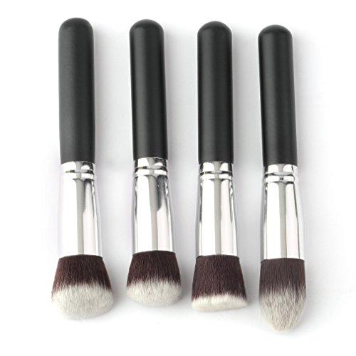 GONGFF Maquillage Pinceaux Ensemble Fard À Paupières Fondation Mascara Crayon Pinceaux De Maquillage Outil Cosmétique