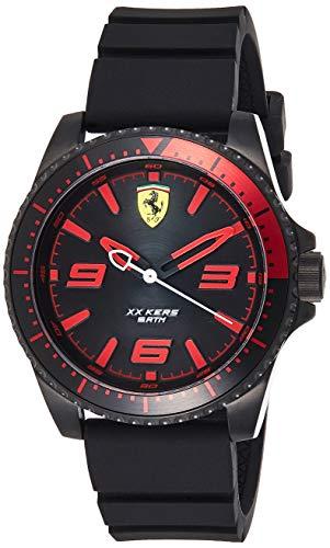 Scuderia Ferrari Reloj Análogo clásico para Hombre de Cuarzo con Correa en Silicona 830465