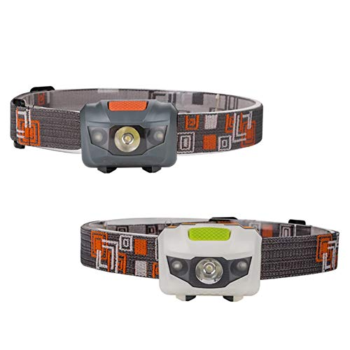 SHIYIMY Linternas Frontales 1 UNID, R3 + 2LED 4 Modos Mini Fuera DE Fuera DE Fuera DE Fuera DE Fuera AL Aire Lucha 800 LUMENES A Prueba de Agua Torch Torch Linterna Linterna para la Caza iluminación