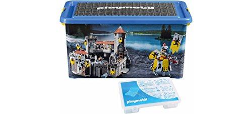 Playmobil 064660 - Caja organizadora y Caja de almacenaje de Caballeros