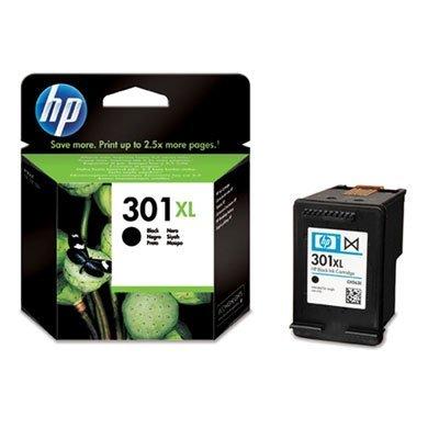 HP 301XL - Cartucho de tinta original, color negro