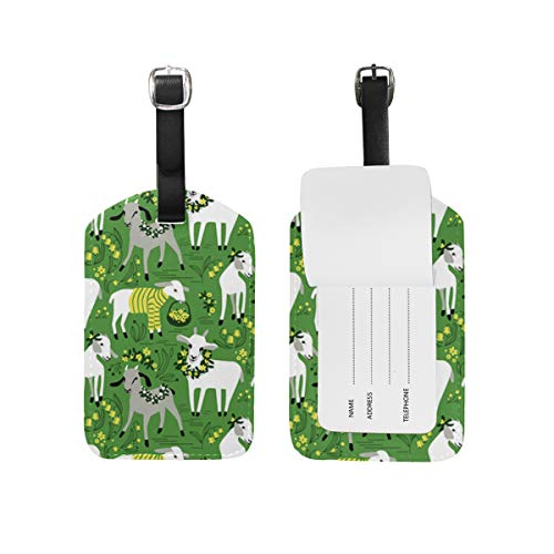 Little Goats - Set di etichette per bagagli per valigia