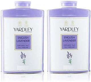 Yardley English Lavender Perfumed Talc, 250g (Pack of 2)