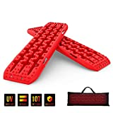 PLIOSAUR Recovery Traction Tracks Boards for Off-Road Truck, Cars, Sand, Snow, Mud,4X4 Recovery...